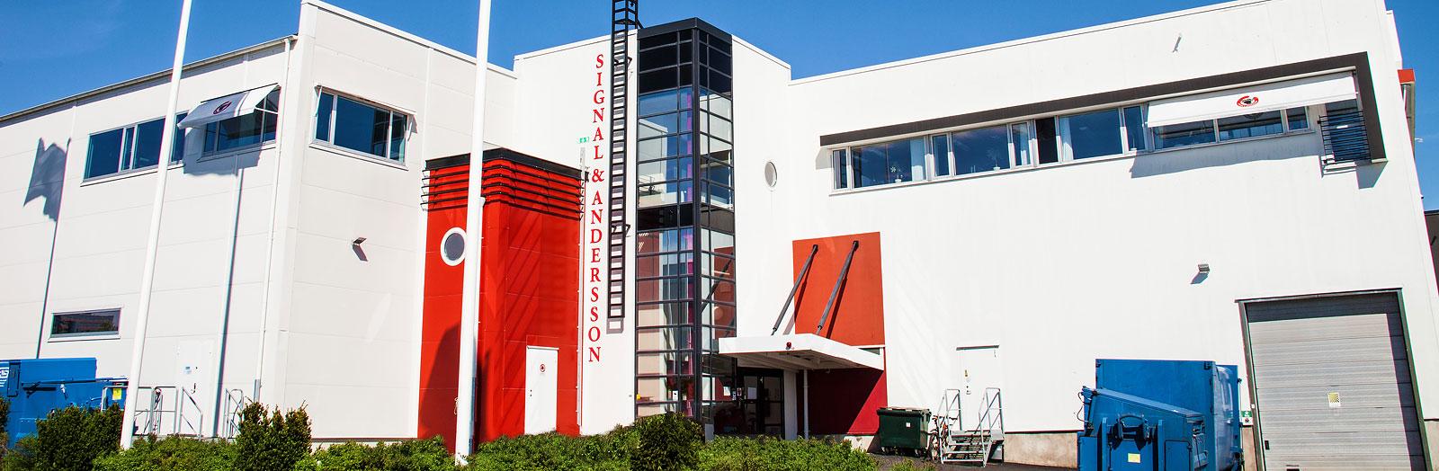 Signal & Anderssons charkuterifabrik i Sisjön