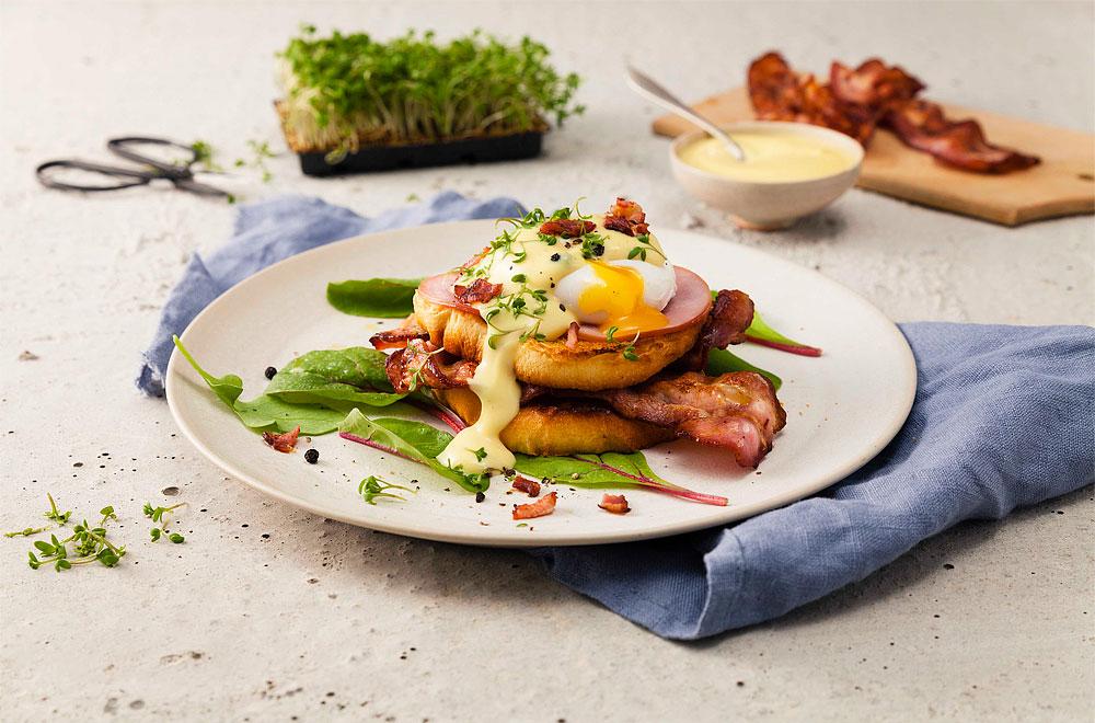 Recept på Eggs Benedict, av Signal & Andersson