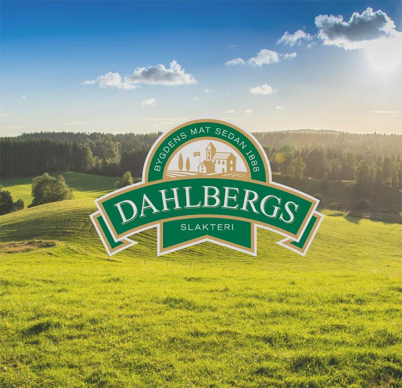Dahlbergs logo på landskap