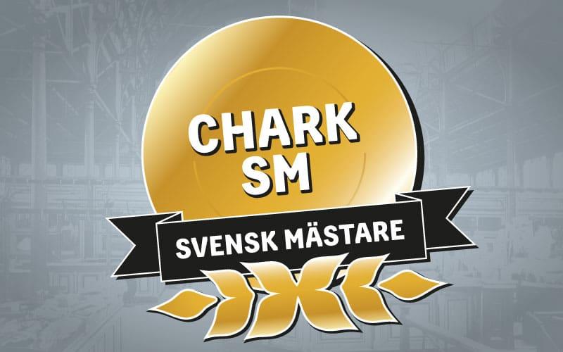 Medalj Svensk mästare i Chark-SM